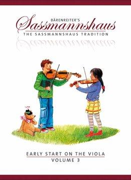 Bärenreiter Early Start on the Viola | Volume 3