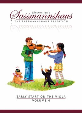 Bärenreiter Early Start on the Viola | Volume 4