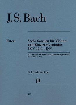 Henle Verlag Bach, J.S. | 6 Sonates voor Viool en Piano) BWV 1014 - 1019