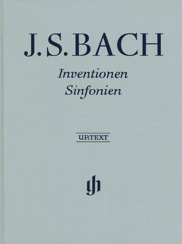 Henle Verlag Bach, J.S. | Inventio's en Sinfonia's | Harde kaft