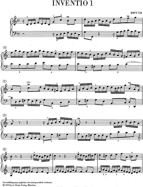 Henle Verlag Bach, J.S. | Inventio's en Sinfonia's (gereviseerd)