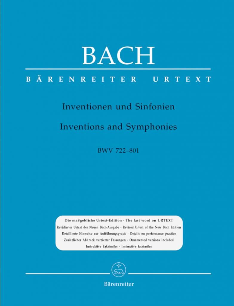 Bärenreiter Bach, J.S. | Inventio's en Sinfonia's