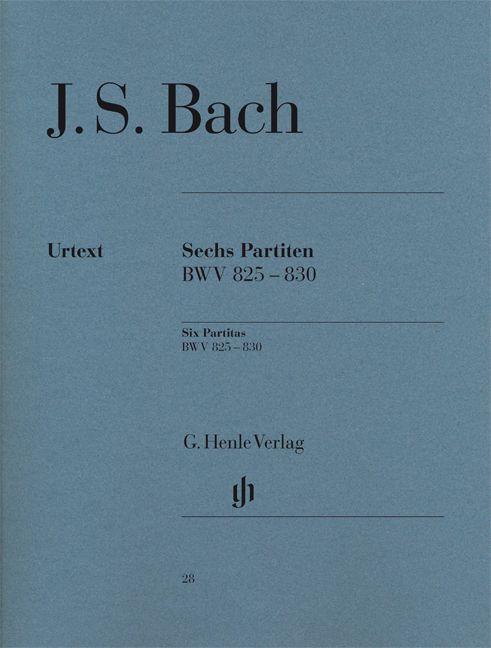 Henle Verlag Bach, J.S. | Zes Partita's BWV 825-830