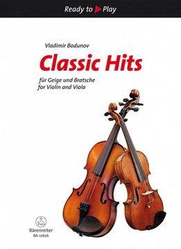 Bärenreiter Ready to Play | Classic Hits | Voor viool en altviool