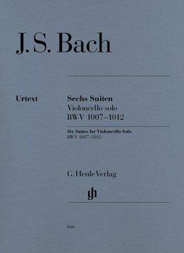 Henle Verlag Bach, J.S. | Zes Suites BWV 1007-1012 voor Cello solo