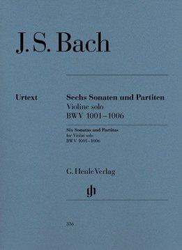Henle Verlag Bach  | Sonates en Partita's BWV 1001-1006 voor Viool solo