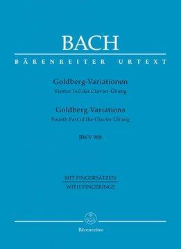 Bärenreiter Bach   Goldberg Variaties BWV 988