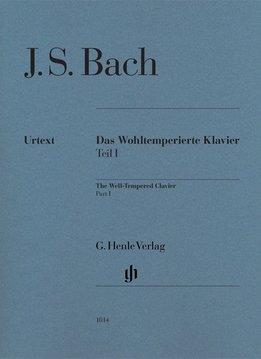 Henle Verlag Bach | The Well-Tempered Clavier | Deel 1  - Zonder vingerzettingen