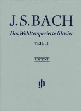 Henle Verlag Bach  | The Well-Tempered Clavier | Volume 2  | Hardcover