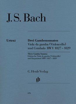 Henle Verlag Bach | Drie gamba sonates BWV 1027-1029