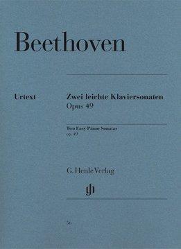 Henle Verlag Beethoven  | 2 Eenvoudige Pianosonates | No. 19 in g klein op. 49,1 en nr 20 in G op. 49,2
