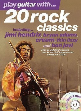 Wise Publications Play Guitar With... 20 Rock Classics
