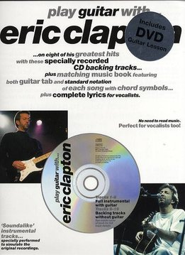 Wise Publications Play Guitar With... Eric Clapton | DVD editie