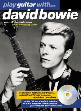 Wise Publications Play Guitar With... David Bowie