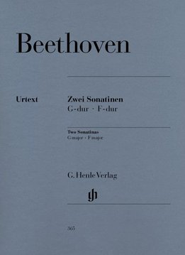 Henle Verlag Beethoven  | 2 Piano Sonatines in F en G, Anh. 5