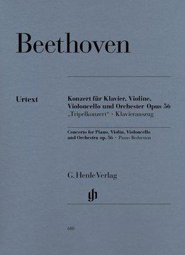 Henle Verlag Beethoven, L. van | Concert in C op. 56 voor Piano, Viool, Cello en Orkest (Tripelconcerto) | Piano uittreksel