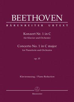 Bärenreiter Beethoven | Pianoconcert nr. 1 in C op. 15 | Piano-uittreksel