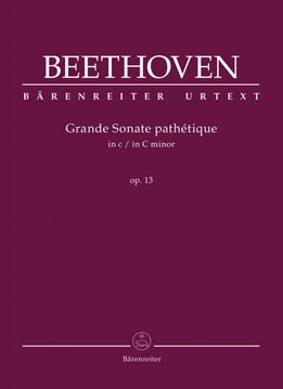 Bärenreiter Beethoven, L. van | Grande Sonate pathétique in c klein op. 13