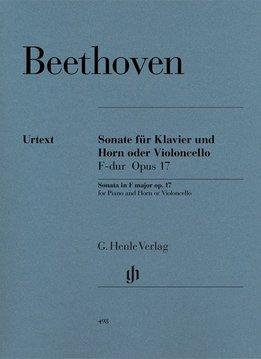 Henle Verlag Beethoven, L. van | Sonate voor Hoorn (of Cello) in F op. 17