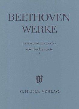Henle Verlag Beethoven | Pianoconcerten 2 | Nr. 4 & 5 | Complete uitgave serie 3 Volume 3 | Zachte kaft