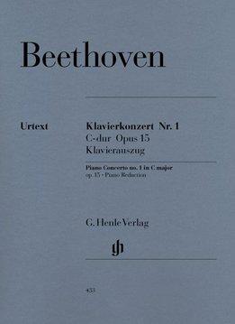Henle Verlag Beethoven | Pianoconcert nr. 1 in C op. 15 | Piano-uittreksel