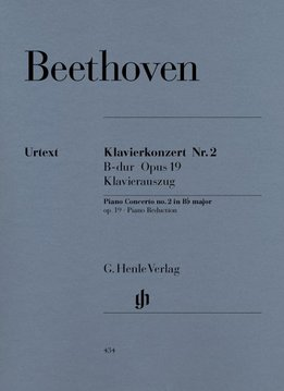 Henle Verlag Beethoven  | Pianoconcert nr. 2 in Bes op. 19 | Piano-uittreksel