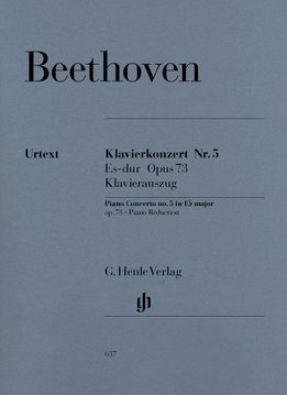 Henle Verlag Beethoven | Pianoconcert nr. 5 in Es op. 73 | Piano-uittreksel