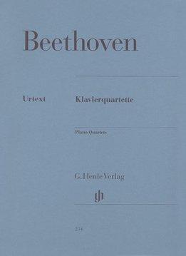 Henle Verlag Beethoven, L. van   Piano Kwartetten
