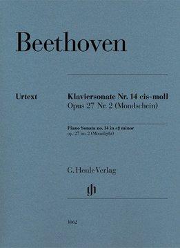 Henle Verlag Beethoven, L. van | Pianosonate no. 14 in cis klein op. 27 nr. 2 (Moonlight)