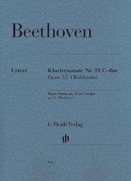Henle Verlag Beethoven, L. van | Pianosonate nr. 21 in C op. 53 (Waldstein)