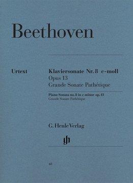 Henle Verlag Beethoven, L. van | Pianosonate nr. 8 in c klein op. 13 (Grande Sonata Pathétique)