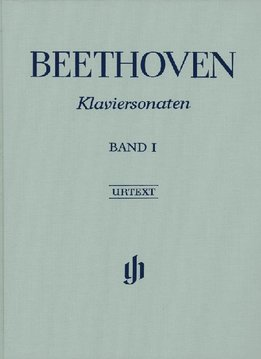 Henle Verlag Beethoven, L. van | Pianosonates Volume 1 | Harde Kaft