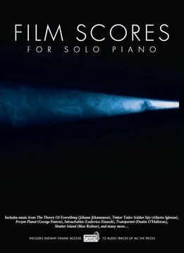 Wise Publications Film Scores For Solo Piano | Boek/Audio Download