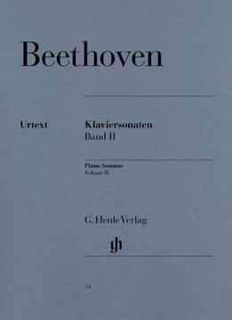 Henle Verlag Beethoven, L. van | Pianosonates Volume 2