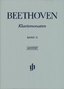 Henle Verlag Beethoven, L. van | Pianosonates Volume 2 | Harde Kaft