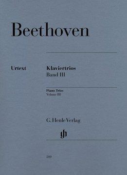 Henle Verlag Beethoven | Pianotrio's Volume 3
