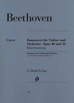 Henle Verlag Beethoven, L. van | Romances in G op. 40 en F op. 50 voor viool en orkest
