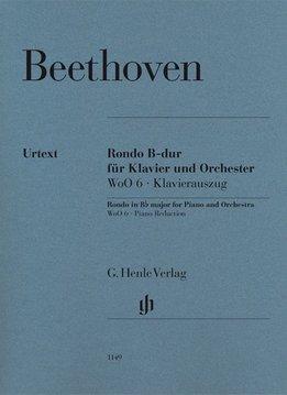 Henle Verlag Beethoven, L. van | Rondo in Bes WoO 6 voor Piano en Orkest | Piano Uittreksel