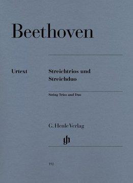 Henle Verlag Beethoven, L. van | Trio voor strijkers op. 3, 8 and 9 en duet voor strijkers WoO 32