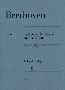 Henle Verlag Beethoven, L. van | Variaties voor Piano en Cello