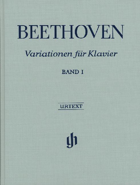 Henle Verlag Beethoven, L. van | Variaties voor Piano Volume 1 | Harde Kaft