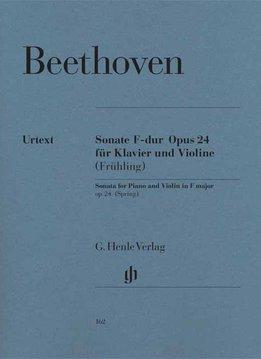 Henle Verlag Beethoven, L. van   Sonate voor Piano en Viool in F op. 24 ('Lentesonate')
