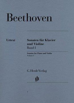 Henle Verlag Beethoven, L. van   Sonates voor Piano en Viool   Volume I