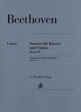 Henle Verlag Beethoven, L. van | Sonates voor Piano en Viool | Volume II