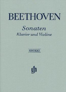 Henle Verlag Beethoven, L. van   Sonates voor Piano en Viool   Volume I/II   Harde Kaft