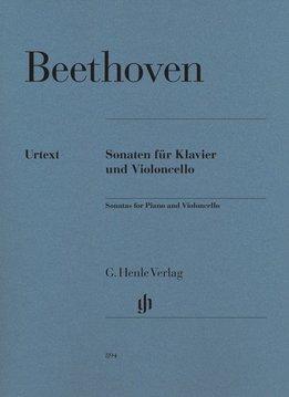 Henle Verlag Beethoven, L. van | Sonates voor Piano en Cello