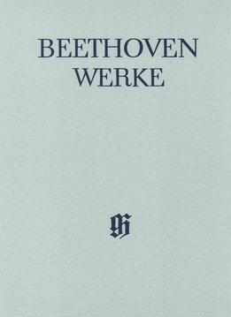 Henle Verlag Beethoven, L. van | Werken voor Piano en één instrument | Hoorn (cello), Fluit (Viool), Mandoline | Complete Uitgave Serie V, volume 4 | Harde kaft