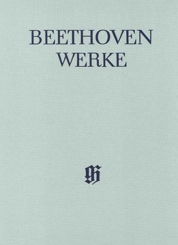 Henle Verlag Beethoven  | Werken voor Piano en Viool Volume 1 | Complete Uitgave, serie 5, volume 1 | Harde Kaft