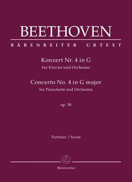 Bärenreiter Beethoven | Pianoconcert nr. 4 in G op. 58 | Partituur
