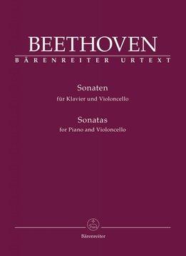 Bärenreiter Beethoven, Ludwig van | Sonates voor Piano en Cello